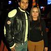 Celebrando con amigos en el bar Chamucos de Ciudad Juarez: Alejandro Rodriguez y Ana Gaytan. Foto: Jesus A. Nava / Especial para El Paso y Mas.