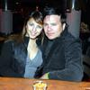 Celebrando con amigos en el bar Chamucos de Ciudad Juarez: Pamela Alvarez e Ivan Andujo. Foto: Jesus A. Nava / Especial para El Paso y Mas.