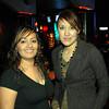 Celebrando con amigos en el bar Chamucos de Ciudad Juarez: Maria Elena Herrera y Dilia Armendariz. Foto: Jesus A. Nava / Especial para El Paso y Mas.