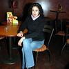 Celebrando con amigos en el bar Chamucos de Ciudad Juarez: Dalia Armendariz. Foto: Jesus A. Nava / Especial para El Paso y Mas.