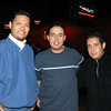 Celebrando con amigos en el bar Chamucos de Ciudad Juarez: Daniel Mitsuo, Carlos y Oscar Avila. Foto: Jesus A. Nava / Especial para El Paso y Mas.