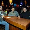 Celebrando con amigos en el bar Chamucos de Ciudad Juarez: Pepe Elguea, Luis Wallace y Luis Soto. Foto: Jesus A. Nava / Especial para El Paso y Mas.
