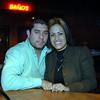 Celebrando con amigos en el bar Chamucos de Ciudad Juarez: Rodolfo y Monica Garcia. Foto: Jesus A. Nava / Especial para El Paso y Mas.