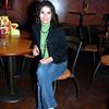 Celebrando con amigos en el bar Chamucos de Ciudad Juarez: Flor Ali Galarza. Foto: Jesus A. Nava / Especial para El Paso y Mas.