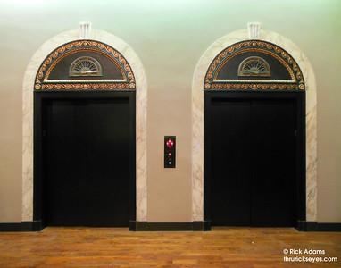 Artsy Elevator Doors