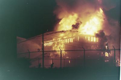 General Alarm Brockton Ma. King Size Shoe Factory Spark Street 07/19/1994.