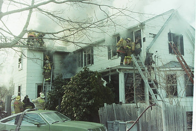 House Fire-East Bridgewater Ma. On Central Street.
