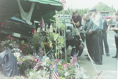 MSP Trooper Mark Charbonnier LODD Funeral 09/06/1994