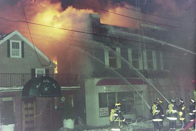 Multi Alarm Fire Canton Ma. 500 block of Washington Street