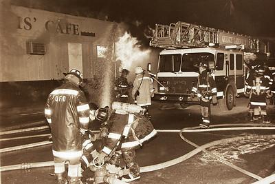 4th Alarm Fire-Louis Cafe & Lounge Sea Street Quincy Ma. 02/01/96