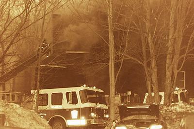 Multi Alarm Fire South Franklin Street-Holbrook Ma. 1995