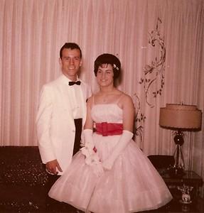 1960 Gordy Elaine Senior Prom jpg