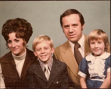 1972 Pellegrinetti Family Portrait