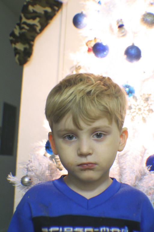 Gavin (sad Christmas while daddy's in Iraq)