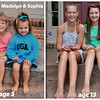Maddie & Sophia collage w-words