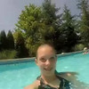 The kids playing with my new GoPro in the pool on Father's Day 2014.