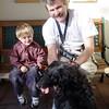 adopting dog