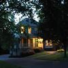 Toni & Scott's house at dusk