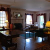 Main sitting room at the Middlebury Inn