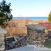 walkway to Lake Michigan from Grand Traverse Lighthouse
