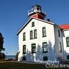 Grand Traverse Lighthouse at tip of Leelanau Peninsula