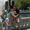 Terri & Family at the Fountain