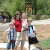 Terri & the Kids at the Zoo