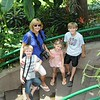 Grandma & the kids at the Zoo