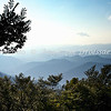 Blue Ridge Parkway, around Mt Mitchell, before sunset--heading south towards Asheville