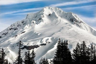 Mt Hood from Mirror Lake