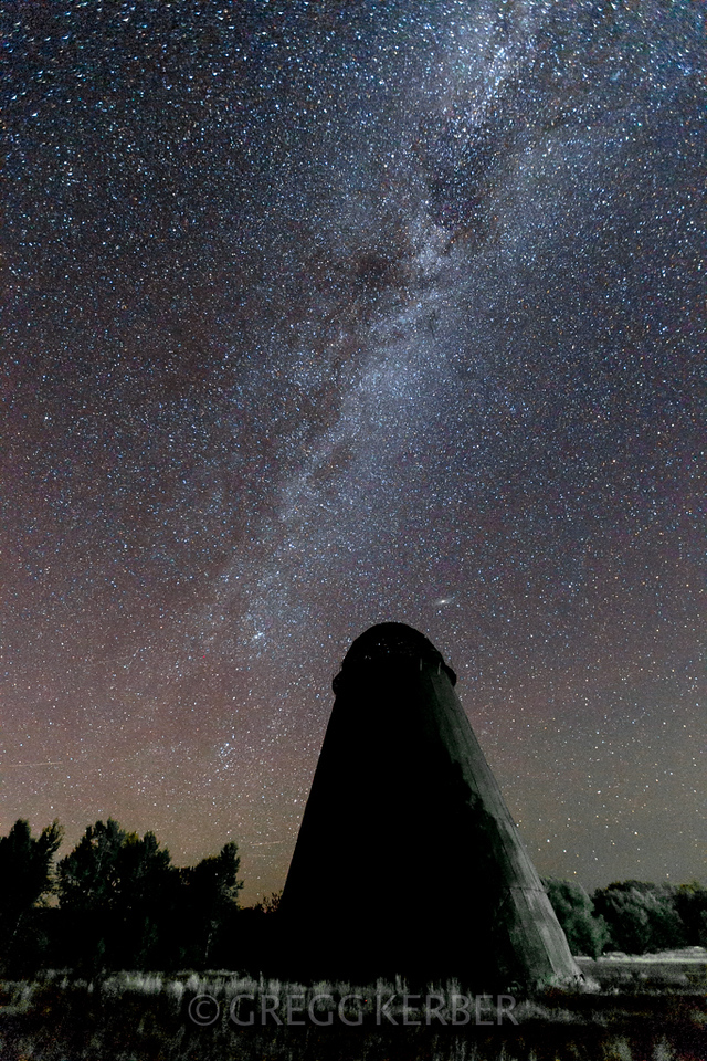 Milky Way and a wigwam burner. Taken during the Wallowa Wanderlust workshop 2013. Join us in 2014 http://www.kerbercustom.com/discoverthelight/workshop/Wallowa2014.asp