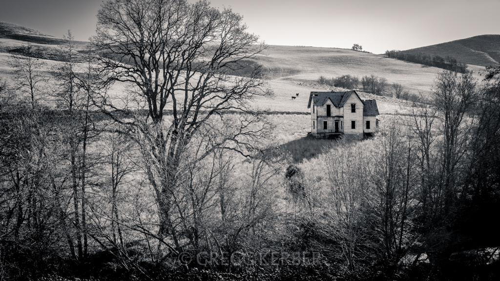 Abandoned farm house. See this and much more during our Hidden Oregon Workshop http://www.kerbercustom.com/discoverthelight/workshop/HiddenOregon-1_2014.asp
