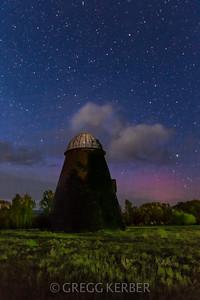Wigwam burner under the stars (from our Wallowa Wanderlust workshop)