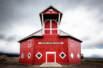 Historic octagonal barn (from our Wallowa Wanderlust workshop)
