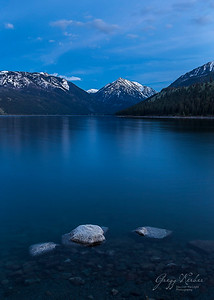 Wallowa Lake Blue Hour