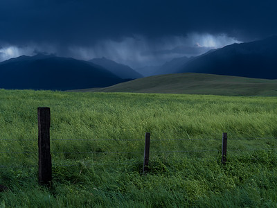 Approaching storm (Wallowa Wanderlust workshop)