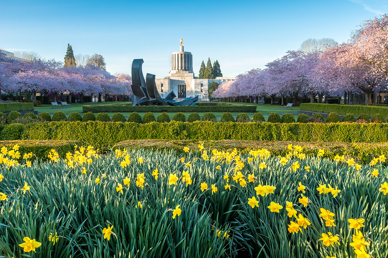 Spring Time at Oregon's capital