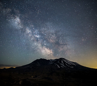 Milky Way over Mt St Helens workshop