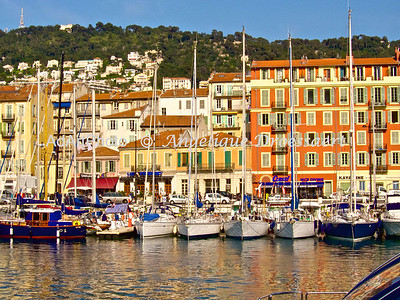 Old Harbour in Nice, France