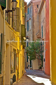 Sunny April Afternoon in Grasse Old Town, France