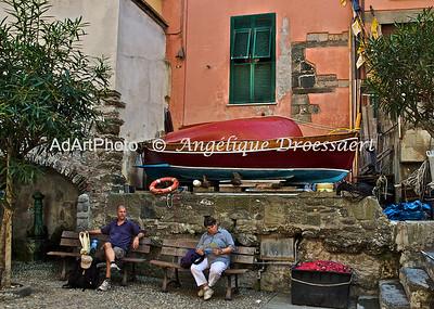 In Vernazza, Cinque Terre, Italy