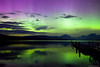 Northern Lights over Lake McDonald, Glacier Park