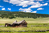 A Simpler Life - settler's home on the edge of the mountains and the plains near Helmsville