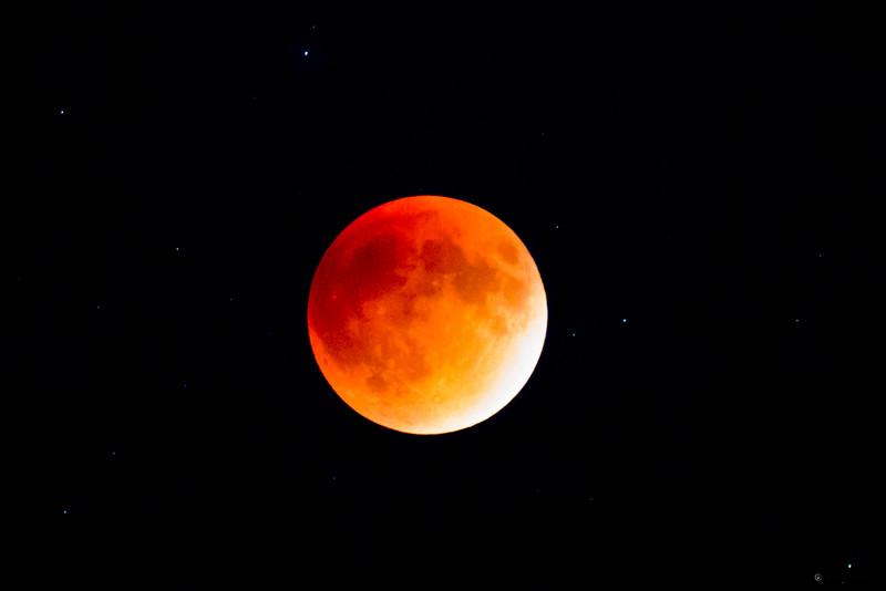 Historic last Blood Moon of the tetrad I