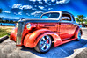 1937 Chevy Coupe at Polson Car show