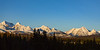 Golden Hour on the wintery western edge of Glacier National Park I