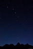 Big Dipper over the Tetons
