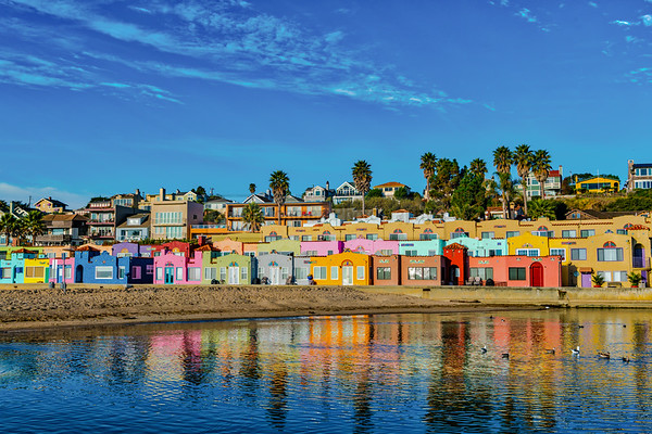 Pastels of Capitola Village, California