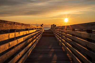 sunrise Plum island