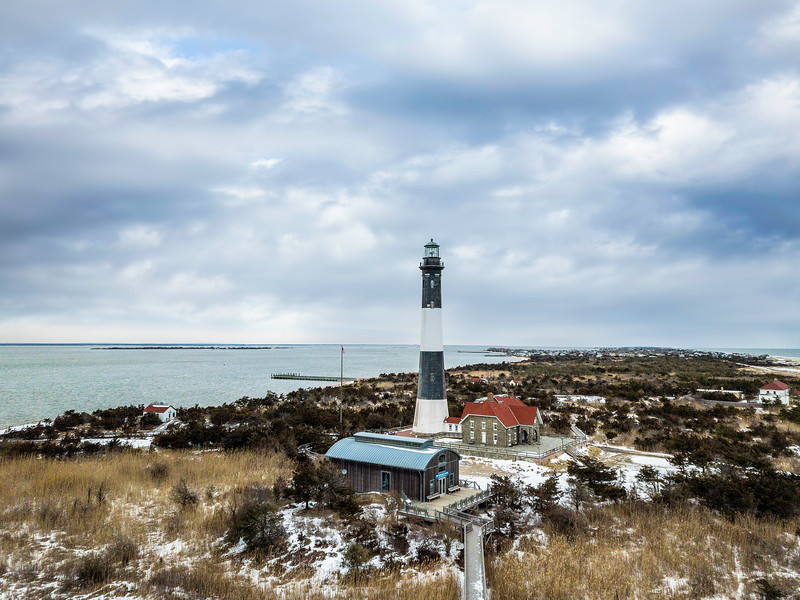 Winter at the Fire Island Lighthouse